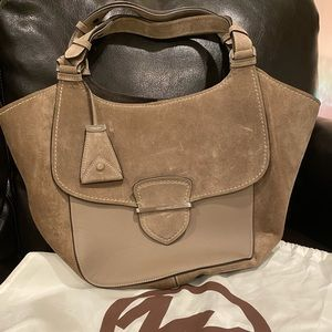 Michael Kors Collection Tote: Leather and Suede